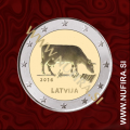 2016 Latvija 2 EUR (Krava)