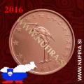 2016 Slovenija 1 CENT