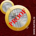 2016 Slovenija 3 EUR (Rdeči križ), PROOF