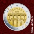 2016 Španija 2 EUR (Segovia)
