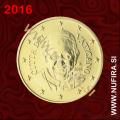2016 Vatikan 0.50 EUR (50 centov) (redni)