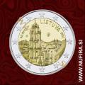 2017 Litva 2 EUR (Vilnius)