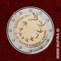 2017 Slovenija 2 EUR (10 let EUR-a)