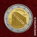 2017 Španija 2 EUR (Asturias)