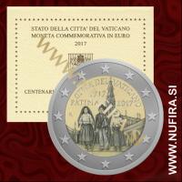 2017 Vatikan 2 EUR (Fatima)