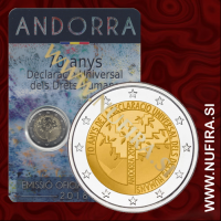 2018 Andorra 2 EUR (Human Rights)