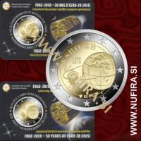 2018 Belgija 2 EUR (ESRO-2B) - Kartica