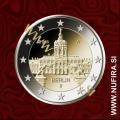 2018 Nemčija 2 EUR (Berlin: Schloss Charlottenburg)