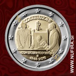 2018 Italija 2 EUR (Constitution)