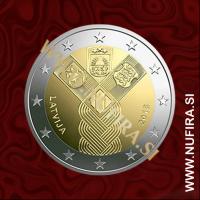 2018 Latvija 2 EUR (Baltic States)