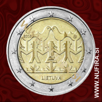 2018 Litva 2 EUR (Song and Dance)