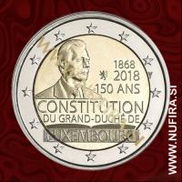 2018 Luksemburg 2 EUR (Constitution)