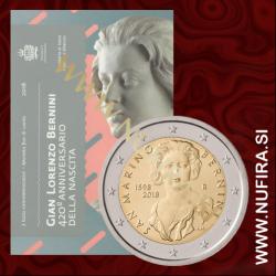 2018 San Marino 2 EUR (Gian Lorenzo Bernini)