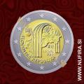 2018 Slovaška 2 EUR (25 let Slovaške republike)