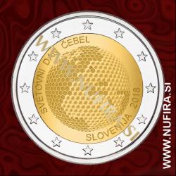 2018 Slovenija 2 EUR (Svetovni dan čebel)