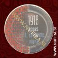 2018 Slovenija 3 EUR (Prva svetovna vojna), barvni