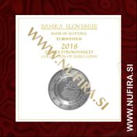 2018 Slovenija SET BU (1c - 2 EUR + 2 EUR + 3 EUR)
