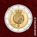2018 Španija 2 EUR (King Felipe VI)