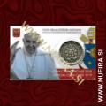 2018 Vatikan kartica 0.50 EUR (No. 9)