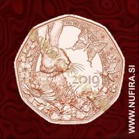 2019 Avstrija 5 EUR (Spring Awakening)