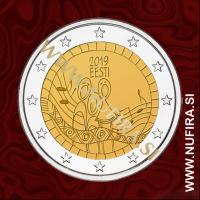 2019 Estonija 2 EUR (Song festival)