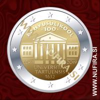 2019 Estonija 2 EUR (University of Tartu)