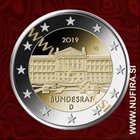 2019 Nemčija 2 EUR (Bundesrat)