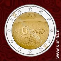 2019 Irska 2 EUR (Dail Eireann)