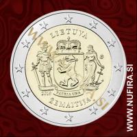 2019 Litva 2 EUR (Žemaitija)
