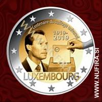 2019 Luksemburg 2 EUR (Voting Right)