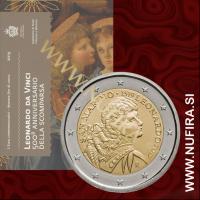 2019 San Marino 2 EUR (Leonardo da Vinci)