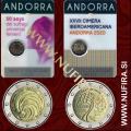 2020 Andorra 2x2 EUR (Suffrage and Summit)