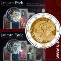 2020 Belgija 2 EUR (Jan van Eyck)