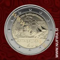 2020 Estonija 2 EUR (Antarctic Expedition)