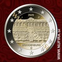 2020 Nemčija 2 EUR (Sanssouci Palace)