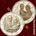 2020 Luksemburg 2x2 EUR (Prince Charles)