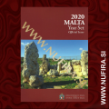 2020 Malta SET BU (1c - 2 EUR + 2 EUR), Mint Mark