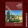 2020 Malta SET BU (1c - 2 EUR + 2 EUR), Mint Mark