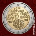 2020 Portugalska 2 EUR (United Nations)