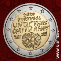 2020 Portugalska 2 EUR (United Nations)