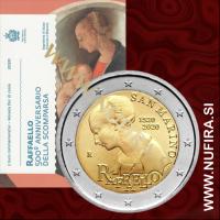 2020 San Marino 2 EUR (Raffaello Sanzio)