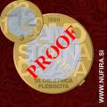 2020 Slovenija 3 EUR (Plebiscit) (PROOF)
