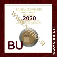 2020 Slovenija SET BU (1c - 2 EUR + 2 EUR + 3 EUR)