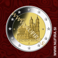 2021 Nemčija 2 EUR (Magdeburg Cathedral)