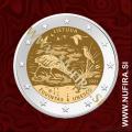 2021 Litva 2 EUR (Žuvintas Biosphere Reserve)