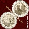 2021 Luksemburg 2x2 EUR (Grand Duke John)