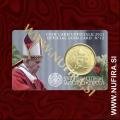 2021 Vatikan kartica 0.50 EUR (No. 12)