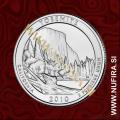 2010 Amerika 03. nacionalni park Yosemite, 0.25 USD
