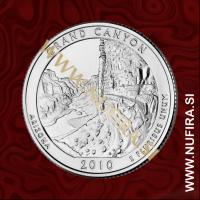 2010 Amerika 04. nacionalni park Grand Canyon, 0.25 USD