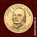 2008 Amerika 06. predsednik John Quincy Adams, 1 USD